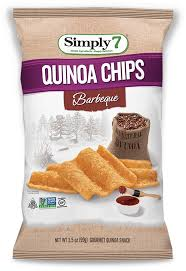 Simply 7 - Quinoa Chips Barbeque 99g