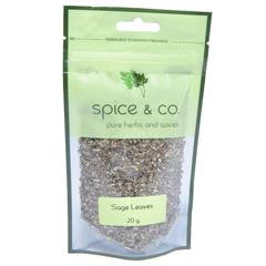 Spice & Co - Sage Leaves 20g