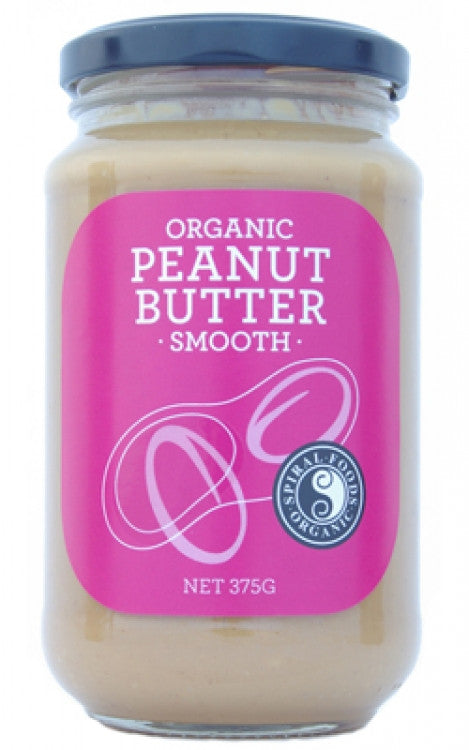 Spiral Foods - Organic Peanut Butter Smooth 375g