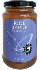 Spiral Foods - Organic Rice Syrup 500g