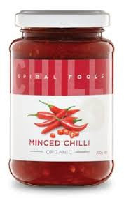 Spiral Foods - Organic Minced Chilli 220g