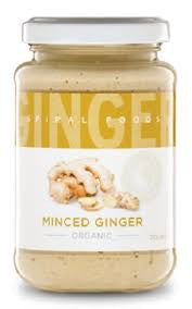 Spiral Foods - Organic Minced Ginger 200g