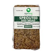 Spring Wholefoods - Sprouted Seed Bread Original 1kg