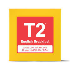 T2 - English Breakfast 25 Bags