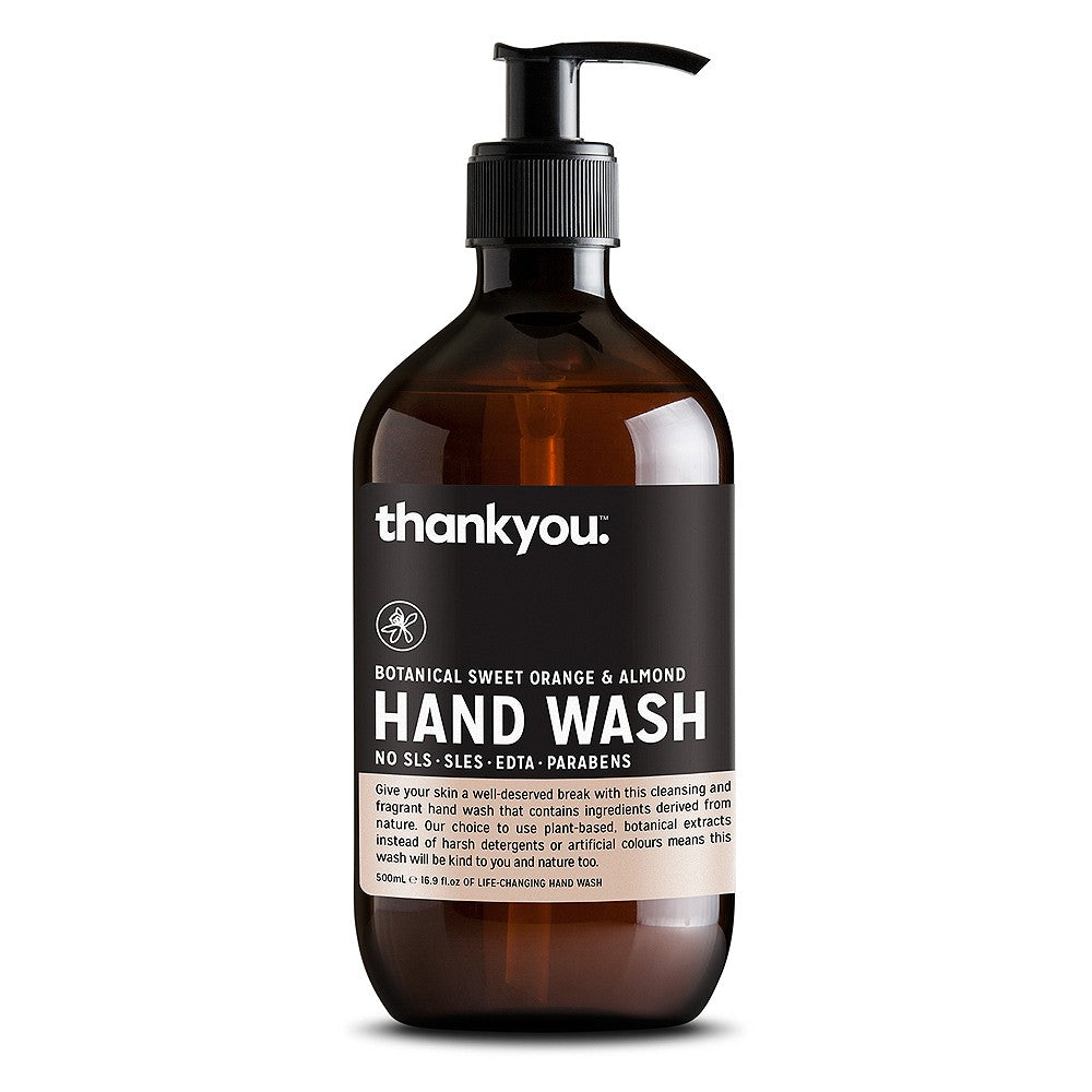 thankyou. - Hand Wash Sweet Orange & Almond 500ml
