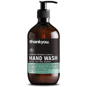 thankyou. - Hand Wash Patchouli & Vanilla 500ml