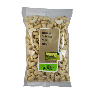The Market Grocer - Organic Cashews Raw 400g