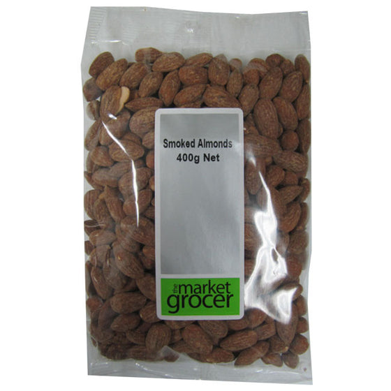 The Market Grocer - Australian Smoked Almonds 400g