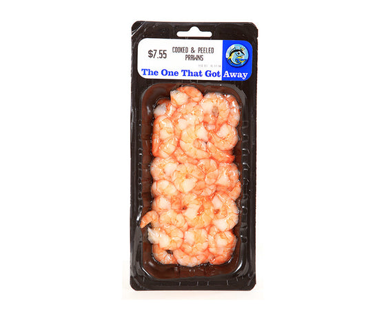 The One That Got Away - Cooked & Peeled Prawns  (100-200g)