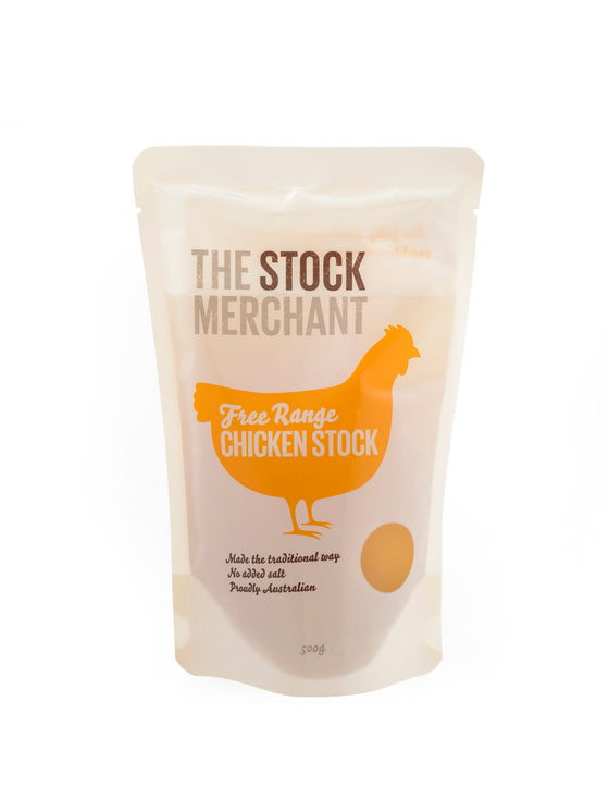The Stock Merchant - Grass Fed Chicken Stock 500g