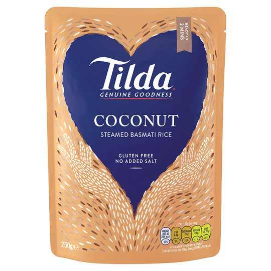 Tilda - Coconut Steamed Basmati Rice 250g