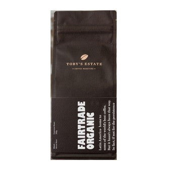 Toby's Estate - Fairtrade Organic Multi Grind 200g