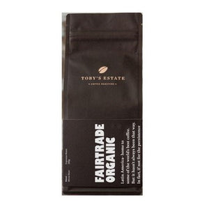 Toby's Estate - Fairtrade Organic Whole Bean 200g