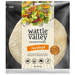 Wattle Valley - Sourdough Wraps 8 Pack
