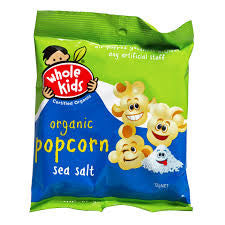 Whole Kids - Organic Popcorn Sea Salt 12g