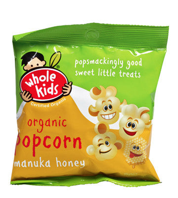 Whole Kids - Organic Popcorn Manuka Honey 35g