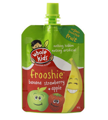 Whole Kids - Banana, Strawberry & Apple Frooshie 90g