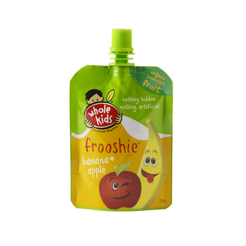 Whole Kids - Banana & Apple Frooshie 90g