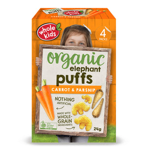 Whole Kids Organic Puffs Carrot & Parsnip