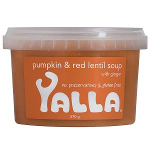 Yalla Pumpkin & Red Lentil Soup 570g