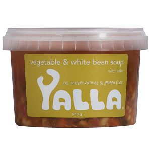 Yalla - Vegetable & White Bean Soup 570g