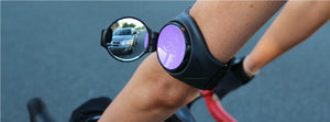 Purple RearViz Mirror