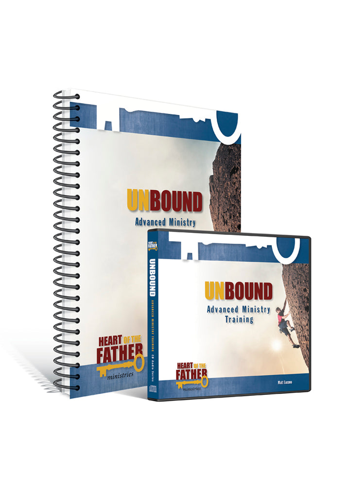 Unbound Advanced Ministry Training CD and Workbook Set
