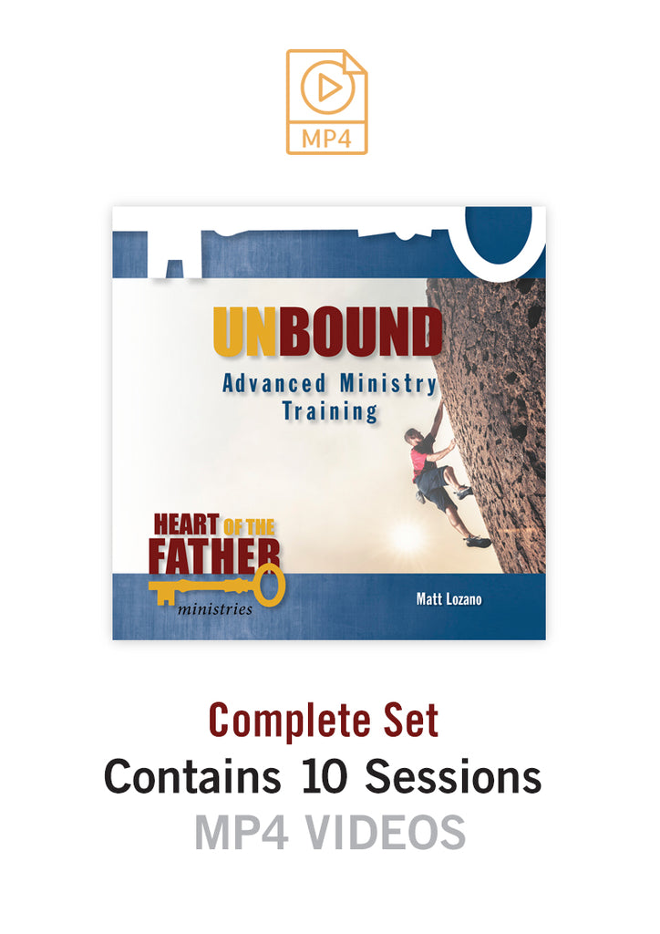 Unbound Advanced Ministry Training MP4 Videos [Complete Set]