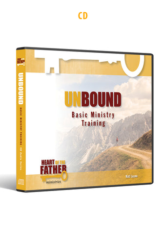 Unbound Basic Ministry Training CD Audio Series