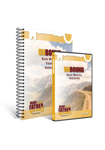 Unbound Basic Ministry Training Workbook and DVD set