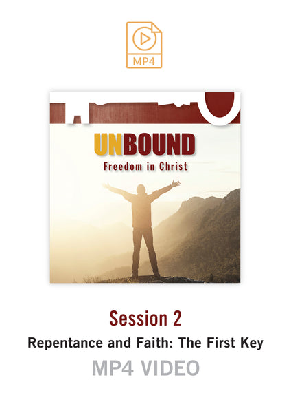 Unbound Freedom in Christ Session 2 Video MP4 (Buy or Rent)
