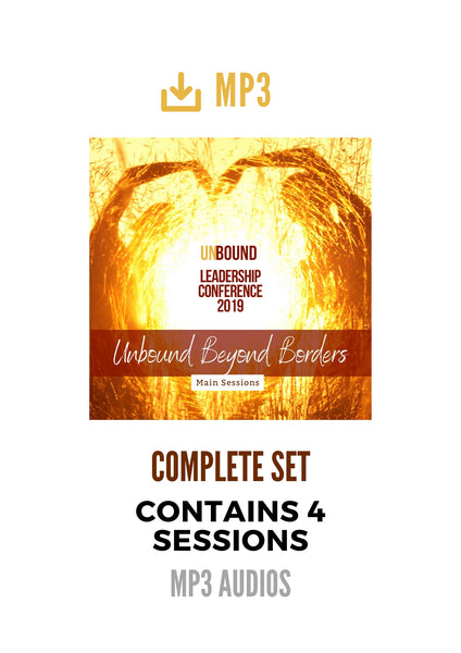 Unbound Leadership Conference 2019:  Main Sessions 1-4 Complete Set of MP3s