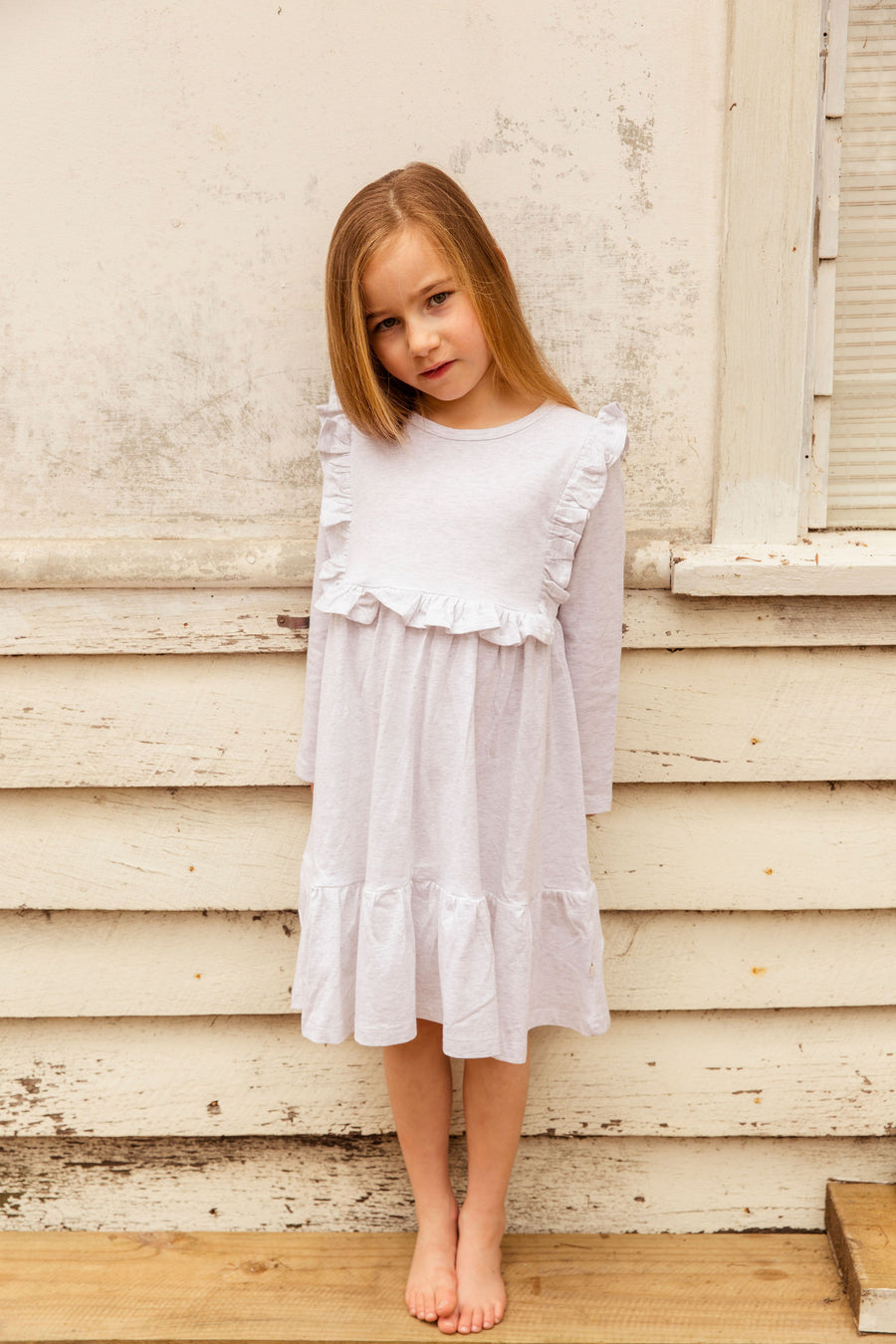 Paris Dress in Sand