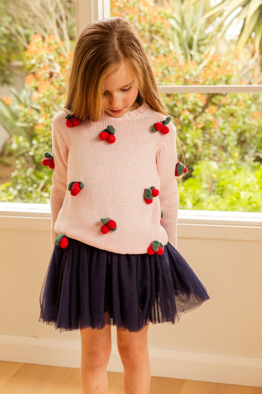 Cherrie Jumper in Candy Floss