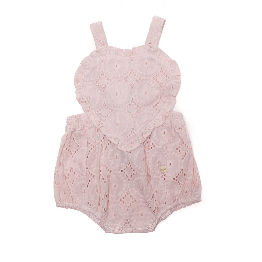 Amore Playsuit in Musk