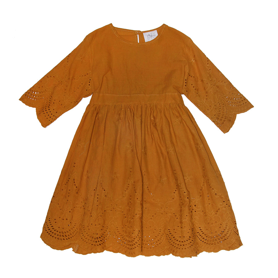 Angel Dress in Saffron