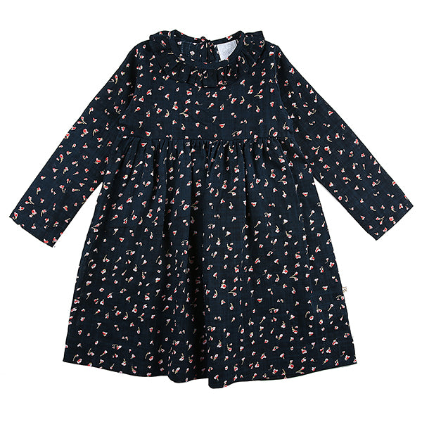 Ellie Dress Navy Rose