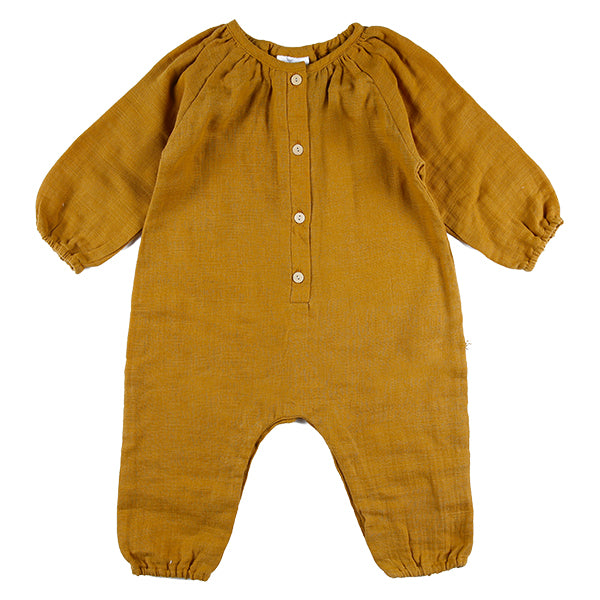 Ginger Playsuit Tumeric