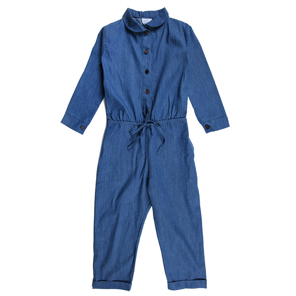 Lucy Boiler Suit Chambray