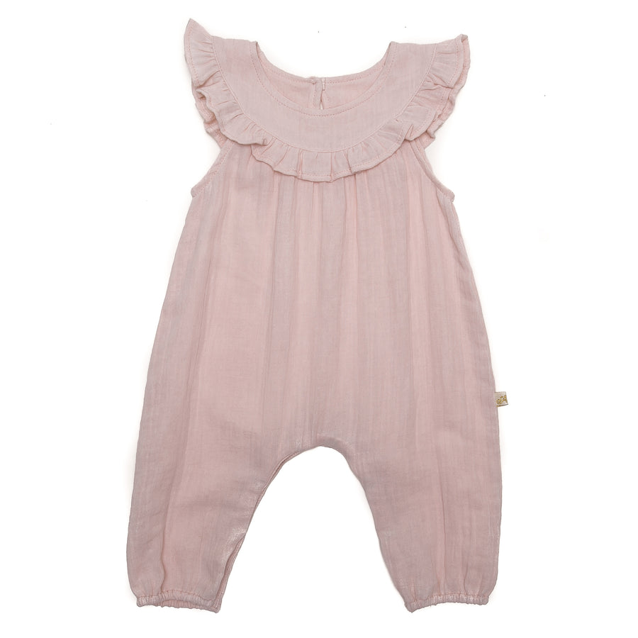 Madelyn Playsuit in Rose