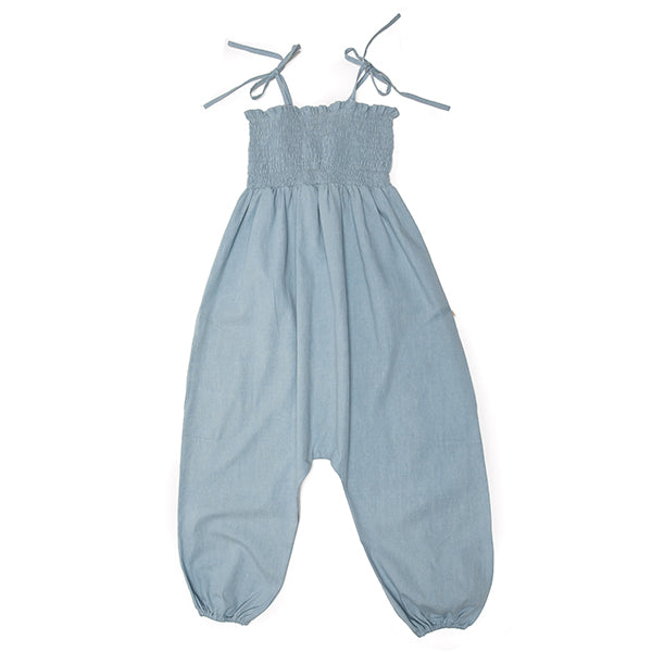 Maisey Jumpsuit in Chambray