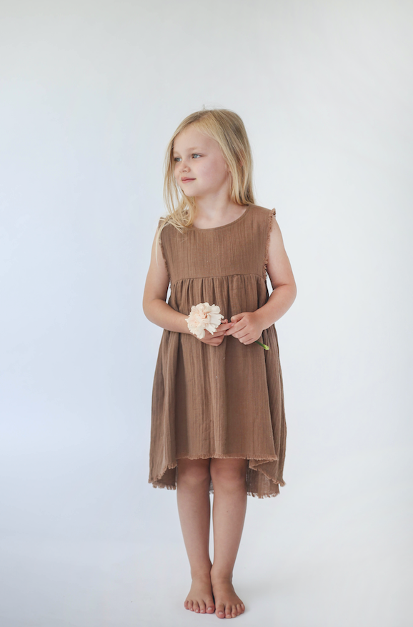 Rylee Dress in Nutmeg