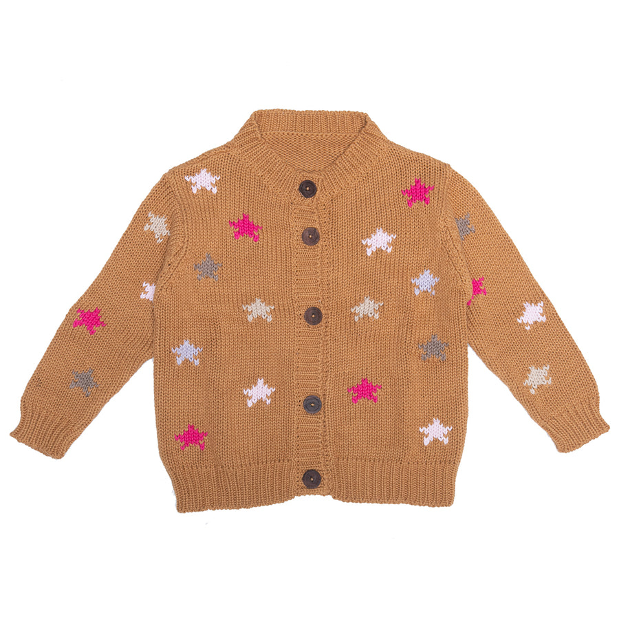 Starry Nights Cardigan in Sunset