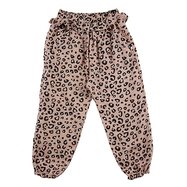 Steph Pant Blush Leopard