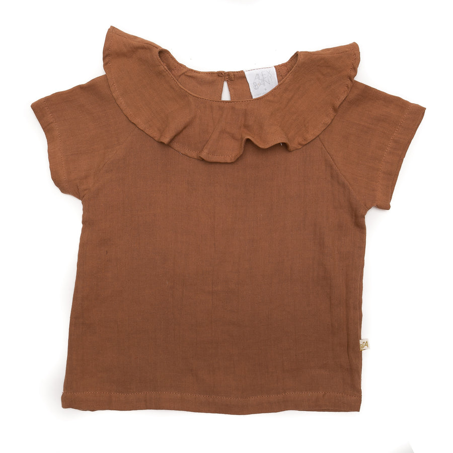 Willow Baby Top in Rust