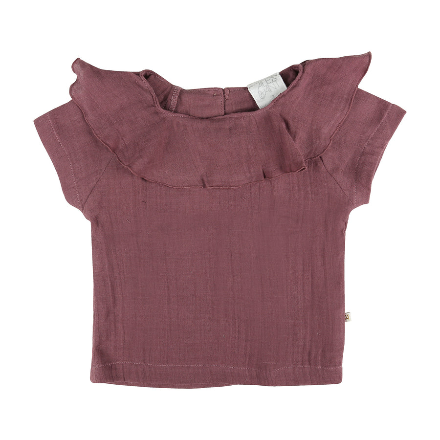 Willow Baby Top in Plum