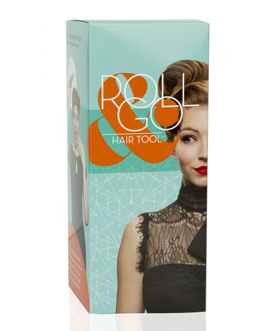 Roll & Go Hair Tool Kit by Lauren Rennells Victory Rolls Tool