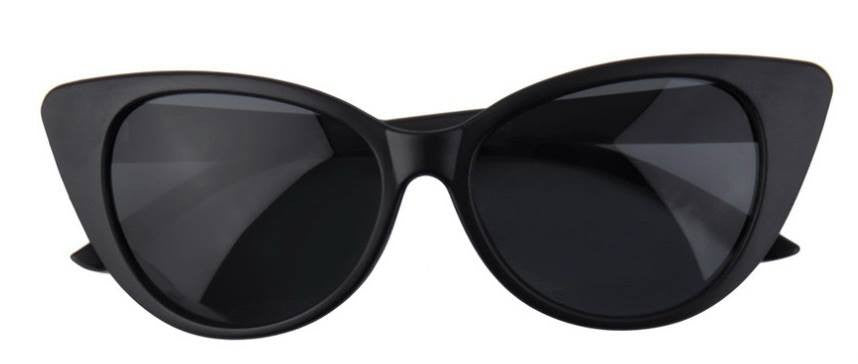 Black Cat's Eye Sunglasses