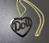 Doll Necklace - Black