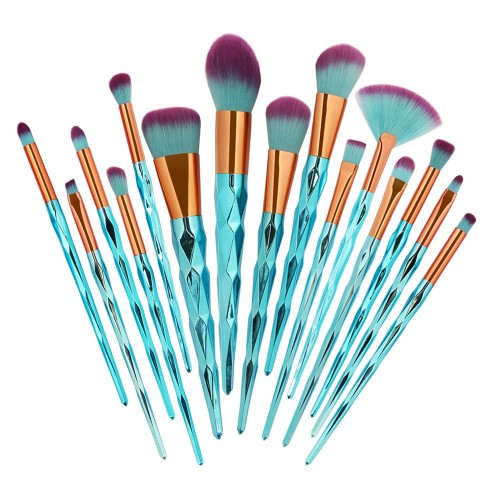 Blue Unicorn Brush Set